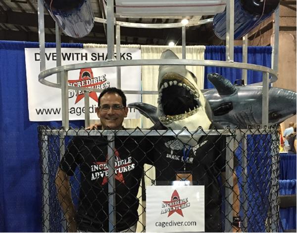 New Shark Cage Built for Bahamas Shark Dives