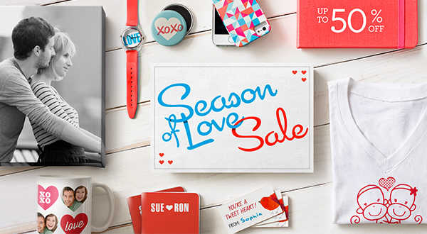 Season of Love Up to 50% OFF